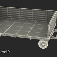 Airport Luggage Trolley Rigged. Preview 21
