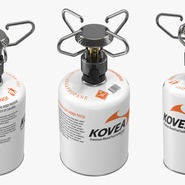 Gas Cylinder with Camping Stove Kovea. Preview 9