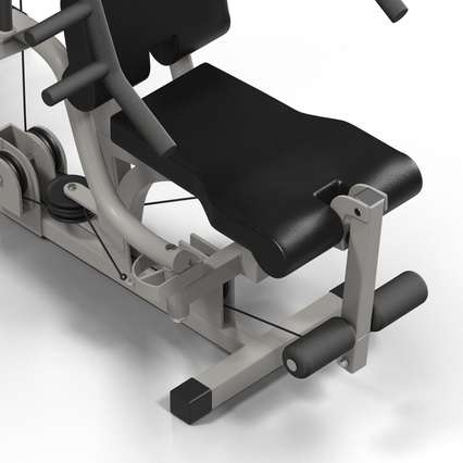 Weight Machine 2. Render 20