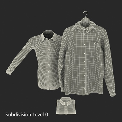 Shirts Collection. Render 29