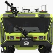 Oshkosh Striker 4500 Aircraft Rescue and Firefighting Vehicle Rigged. Preview 14