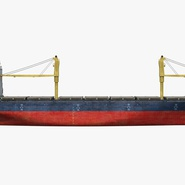 Sea Cargo Ship Generic. Preview 3