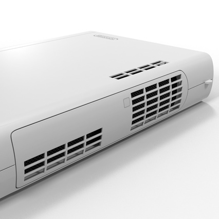 Nintendo Wii U Set White. Render 40