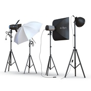 Photo Studio Lamps Collection. Preview 12
