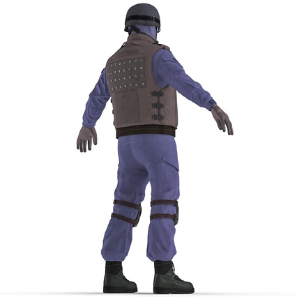 SWAT Uniform. Render 9