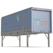 Swap Body Container ISO Blue. Preview 2