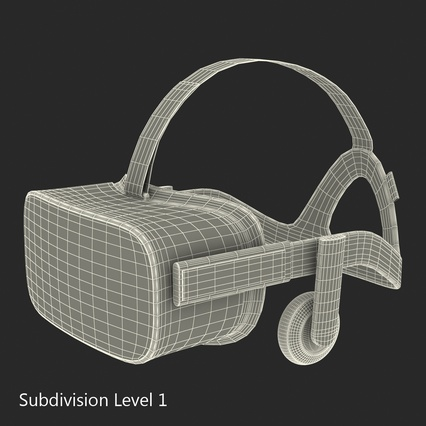 Virtual Reality Goggles Collection. Render 84