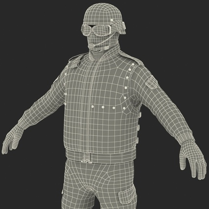 SWAT Uniform. Render 58