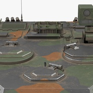 Fennek German Reconnaissance Vehicle Rigged. Preview 22