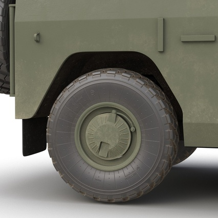 Russian Mobility Vehicle GAZ Tigr M Rigged. Render 39