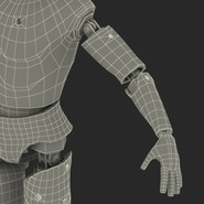 Male Crash Test Dummy Rigged for Cinema 4D. Preview 49