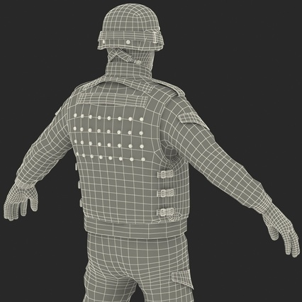 SWAT Uniform. Render 67