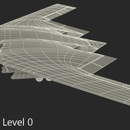 Stealth Bomber B-2 Spirit Rigged. Preview 23