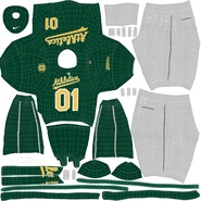 Baseball Player Outfit Athletics 3. Preview 31