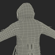 Russian Space Suit Sokol KV2 Rigged. Preview 68