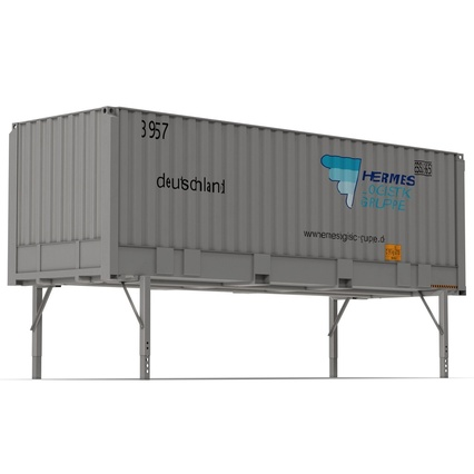 Swap Body Container ISO. Render 5