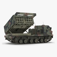 US Multiple Rocket Launcher M270 MLRS Camo. Preview 1