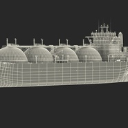 Gas Carrier Ship. Preview 4