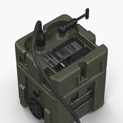 TOW Missile Guidance Set and Battery. Render 10