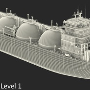 Gas Carrier Ship. Preview 24