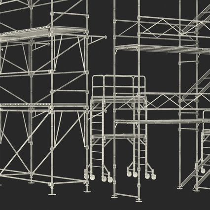 Scaffolding Collection 2. Render 56