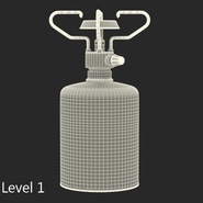 Gas Cylinder with Camping Stove. Preview 14