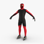Speed Skater Suit Generic. Preview 2