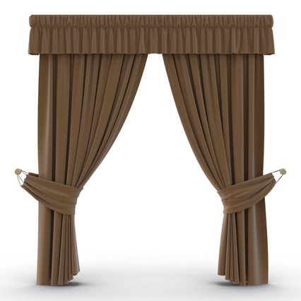 Curtains Collection. Render 28