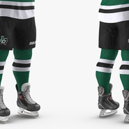 Hockey Player Stars Rigged for Maya. Preview 14