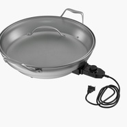 Round Electric Skillet. Preview 3