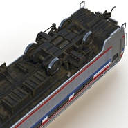 Railroad Amtrak Passenger Car 2. Preview 24
