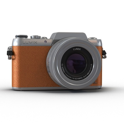 Panasonic DMC GF7 Brown. Render 3