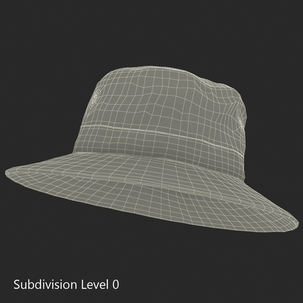 Fishing Hat. Render 18