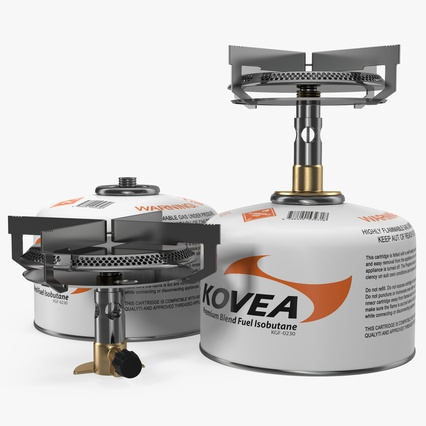 Single Burner Camping Gas Stove Kovea. Render 2