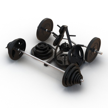 Barbells Collection 2. Render 9
