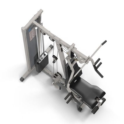 Weight Machine 2. Render 12
