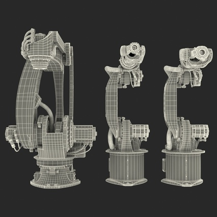 Kuka Robots Collection 5. Render 66