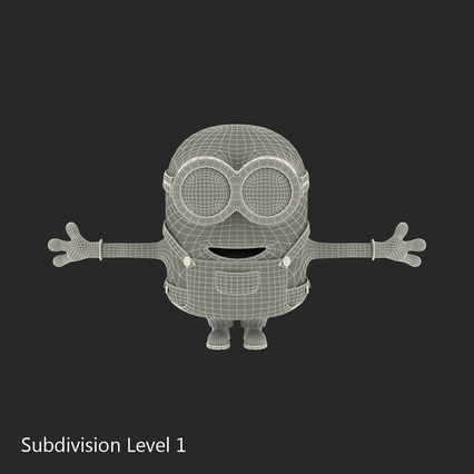 Minions Collection. Render 36