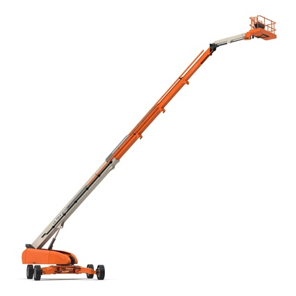 Telescopic Boom Lift Generic 4 Pose 2. Render 18