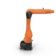 Kuka Robot KR 10 R1100 Rigged. Preview 3