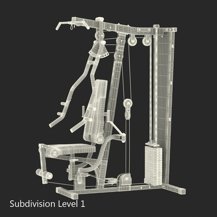 Weight Machine 2. Render 38