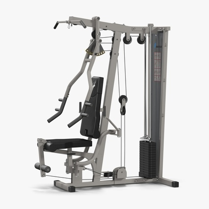 Weight Machine 2. Render 1