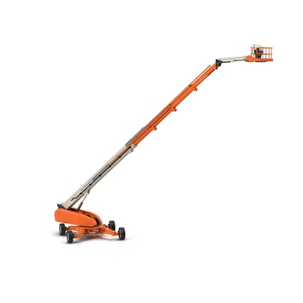 Telescopic Boom Lift Generic 4 Pose 2. Render 3