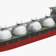 Gas Carrier Ship. Preview 6