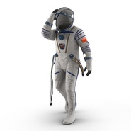 Russian Space Suit Sokol KV2 Rigged. Preview 20
