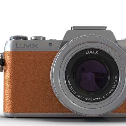 Panasonic DMC GF7 Brown. Render 42