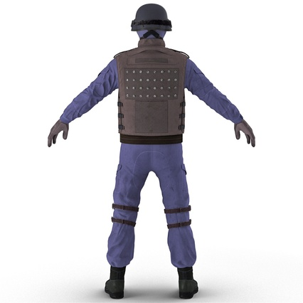 SWAT Uniform. Render 12