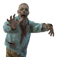 Zombie Rigged for Cinema 4D. Preview 41