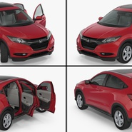 Compact SUV Honda HR-V 2017. Preview 7