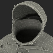 Russian Space Suit Sokol KV2 Rigged. Preview 70